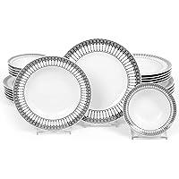 Kütahya Porselen,Dinnerware Set,Service for 6, 24-Piece (Jasmine)
