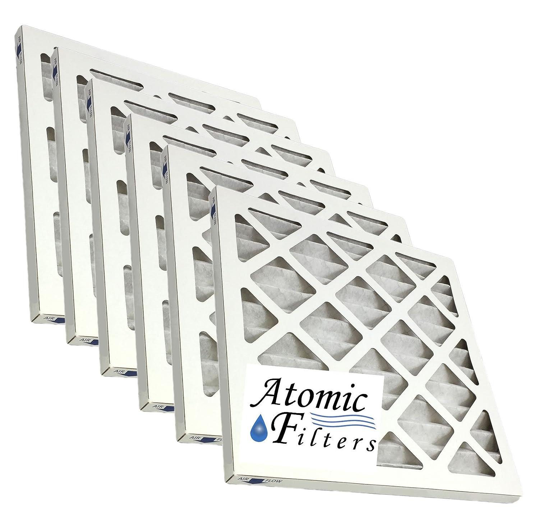 Atomic 20 x 20 x 1 MERV 13アレルギーEliteプリーツAC炉フィルタ – 6パック B01B2BOLA0