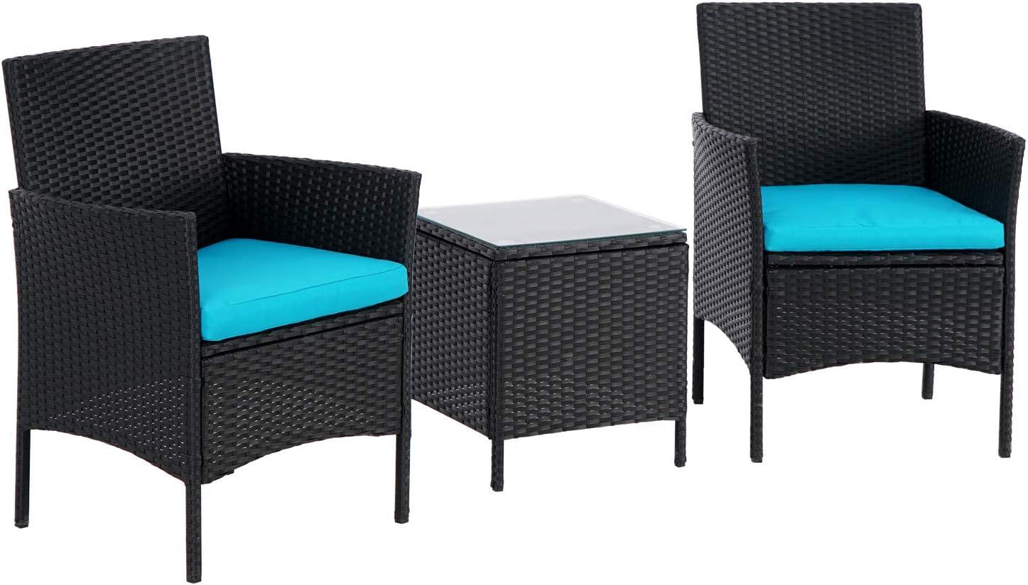 bonusall 3 pieces patio bistro set