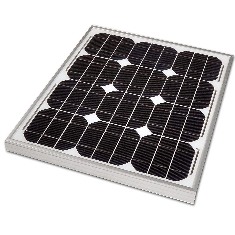 PK Green Panel Solar 30W 12V Monocristalino Portátil para Jardín, Exterior, Camping, Caravans, Coche, Cargar Batería 12V: Amazon.es: Amazon.es
