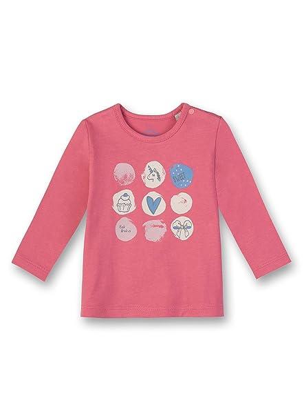 8b5b1e4db15c5 Sanetta Shirt Manches Longues Bébé Fille  SANETTA  Amazon.fr  Vêtements et  accessoires