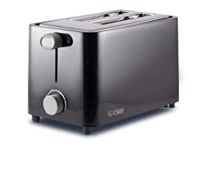 Commercial Chef CCT2201B 2 Slice Toaster, Black