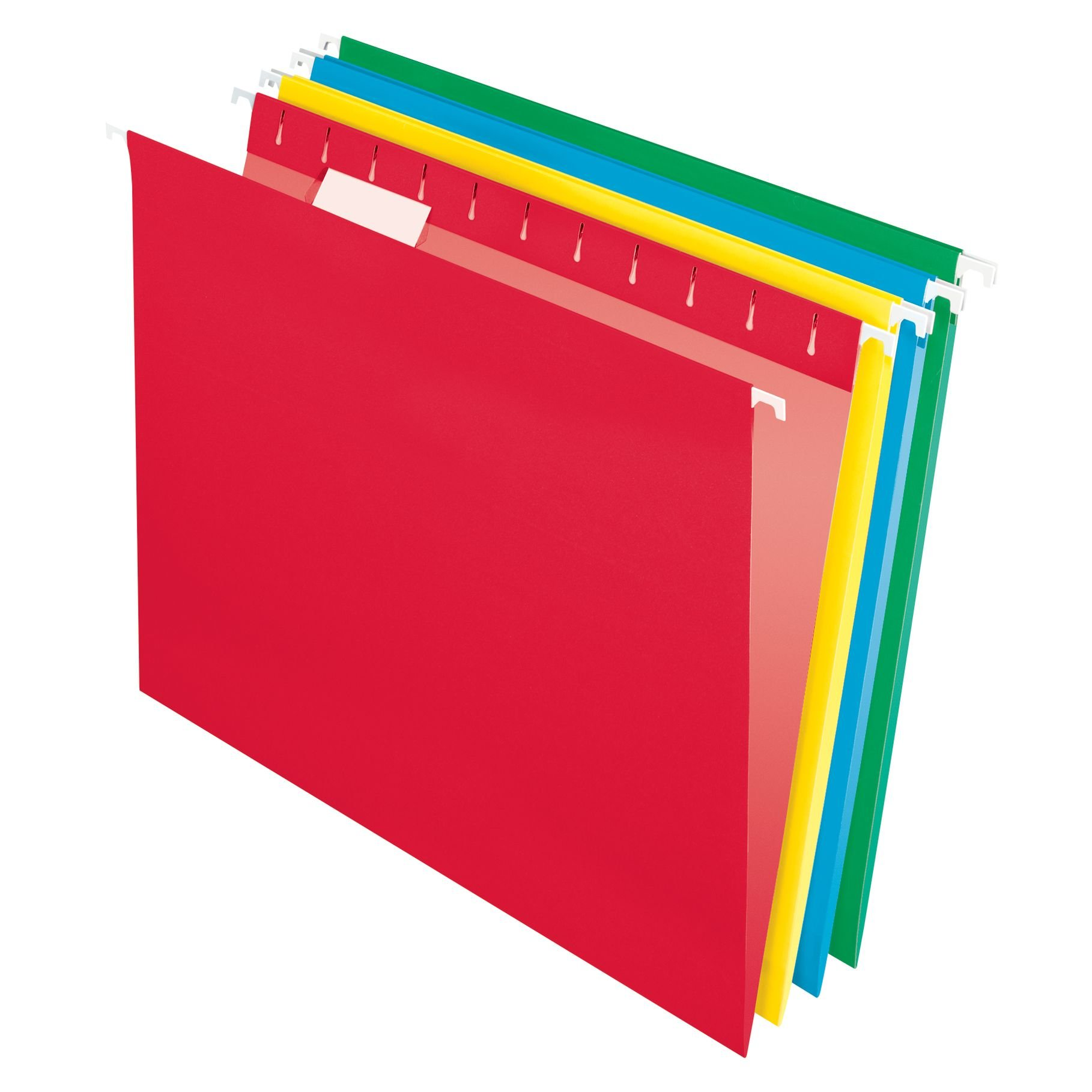 Pendaflex Essentials Hanging Folders, Letter Size, Assorted Colors, 25 per Box (75708)