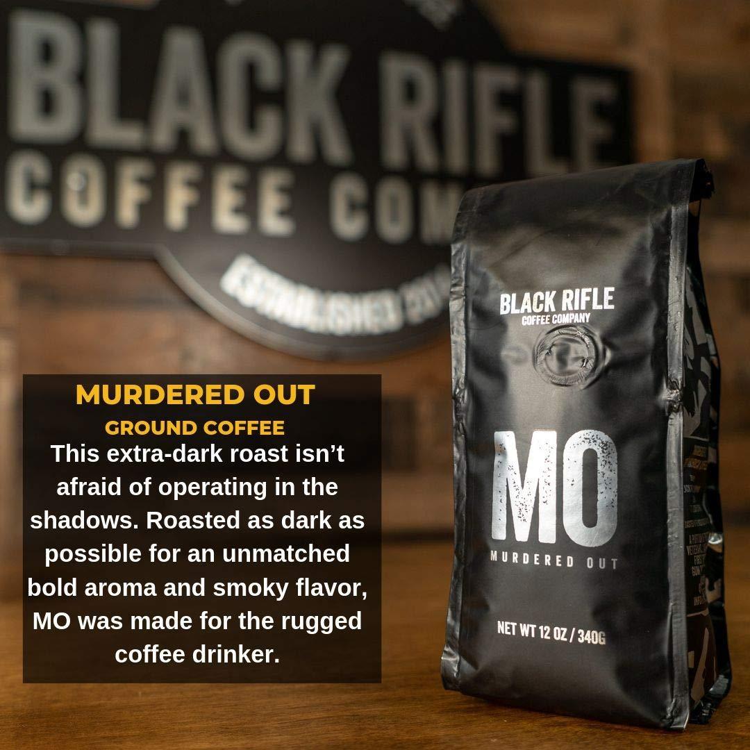 Black Rifle Coffee Company Murdered Out Coffee Dark Roast Ground, 12 Ounce Bag by Black Rifle Coffee Company (Image #5)