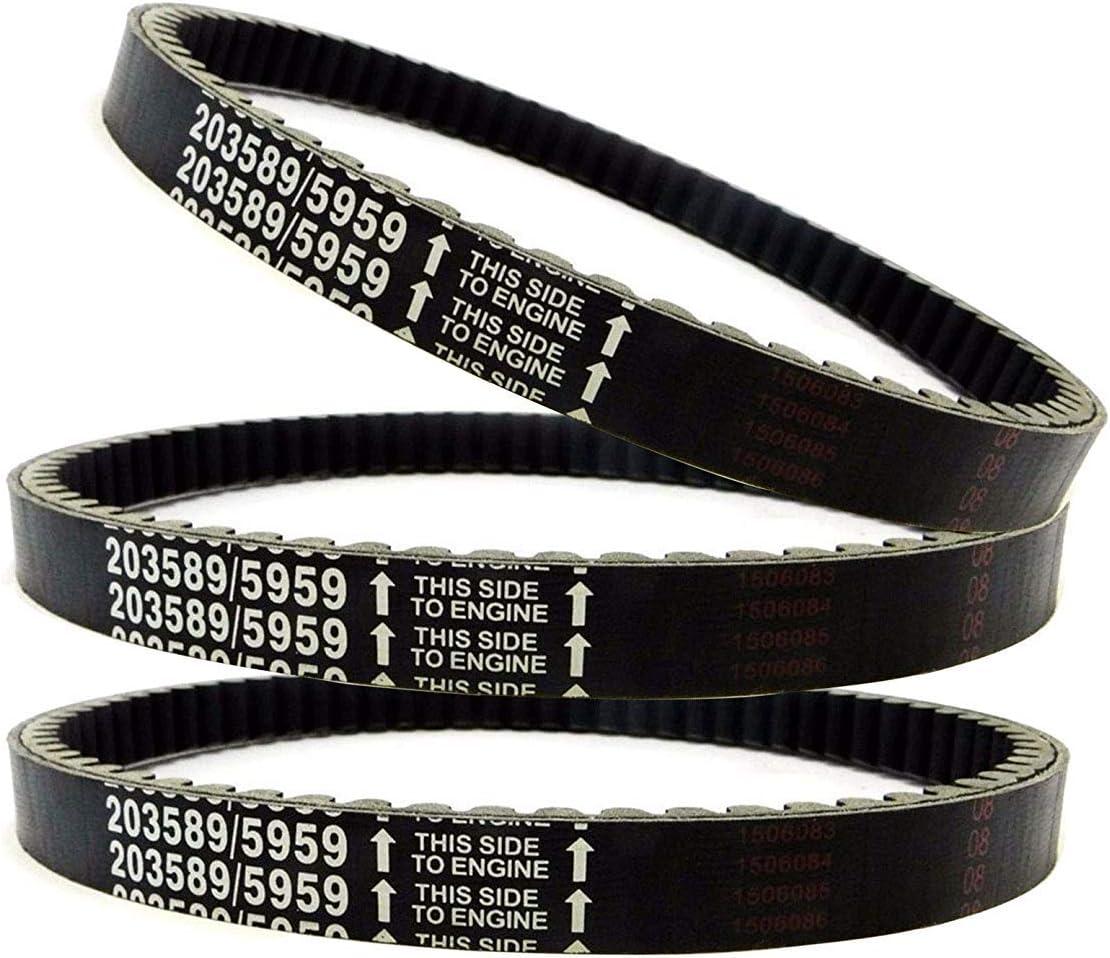 Mini Bike Drive Belts 30 Comet Series for Manco American Sportworks Belt # 203589//5959 203589A Jeremywell Series 30 Drive Belt 203589//5959 Go Kart Drive Belt