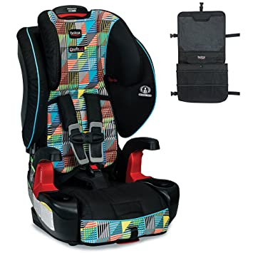 Britax Frontier Clicktight Combination Harness 2 Booster Car Seat Vector Back
