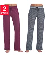 Karen Neuburger Women's Lounge Pant, Pack of 2