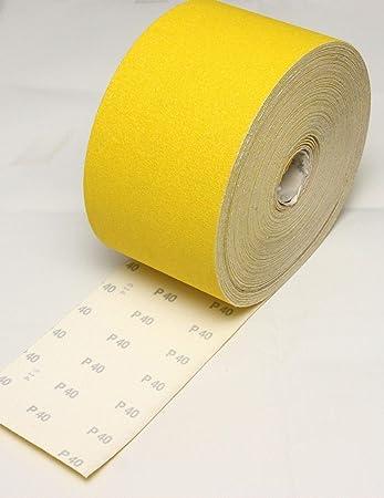 Lija de papel de lija NORTON 160 mm lijado 5 metros Grit P60 ...