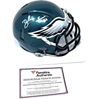 $109 » Zach Ertz Philadelphia Eagles Signed Autograph Speed Mini Helmet Helmet Fanatics Authentic Certified