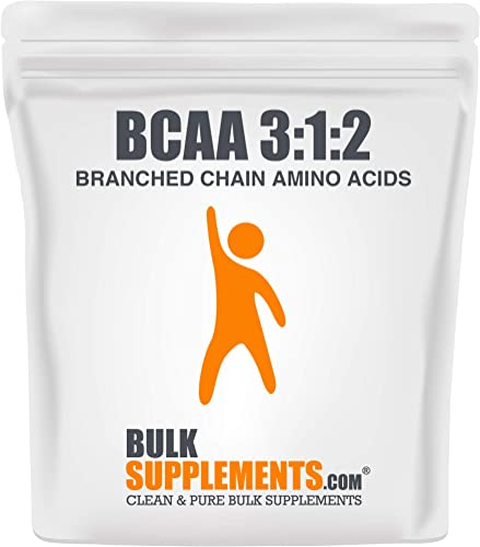 Bulksupplements BCAA 3 1 2 Branched Chain Amino Acids Powder 1 Kilogram