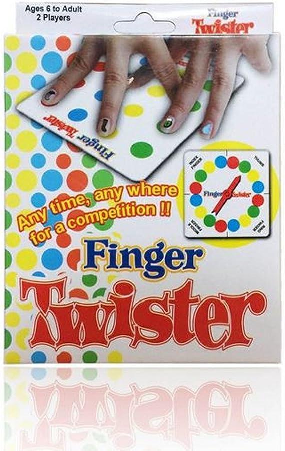 Dedo tornado juego twister: Amazon.es: Juguetes y juegos