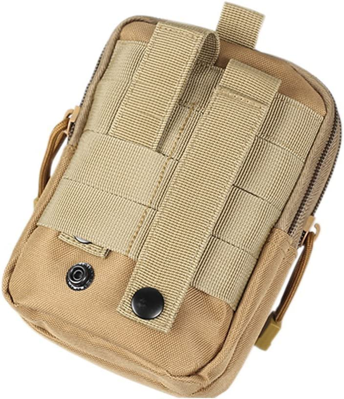 QEES Multi-Usage pour Camping et randonn/ée Waistpack 17,8/x 10,9/x 6,1/cm Yb01