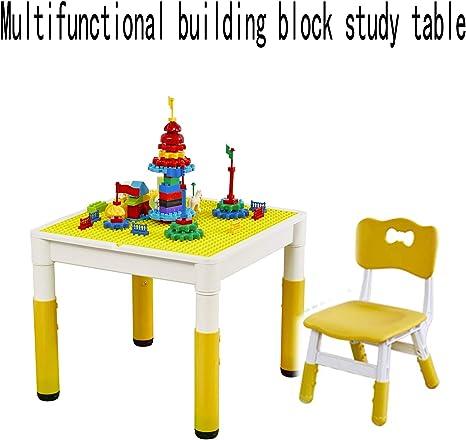 Mesa de madera para niños Juego de múltiples funciones Mesa de ...