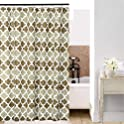 Shield Creator Beige Moroccan Shower Curtain
