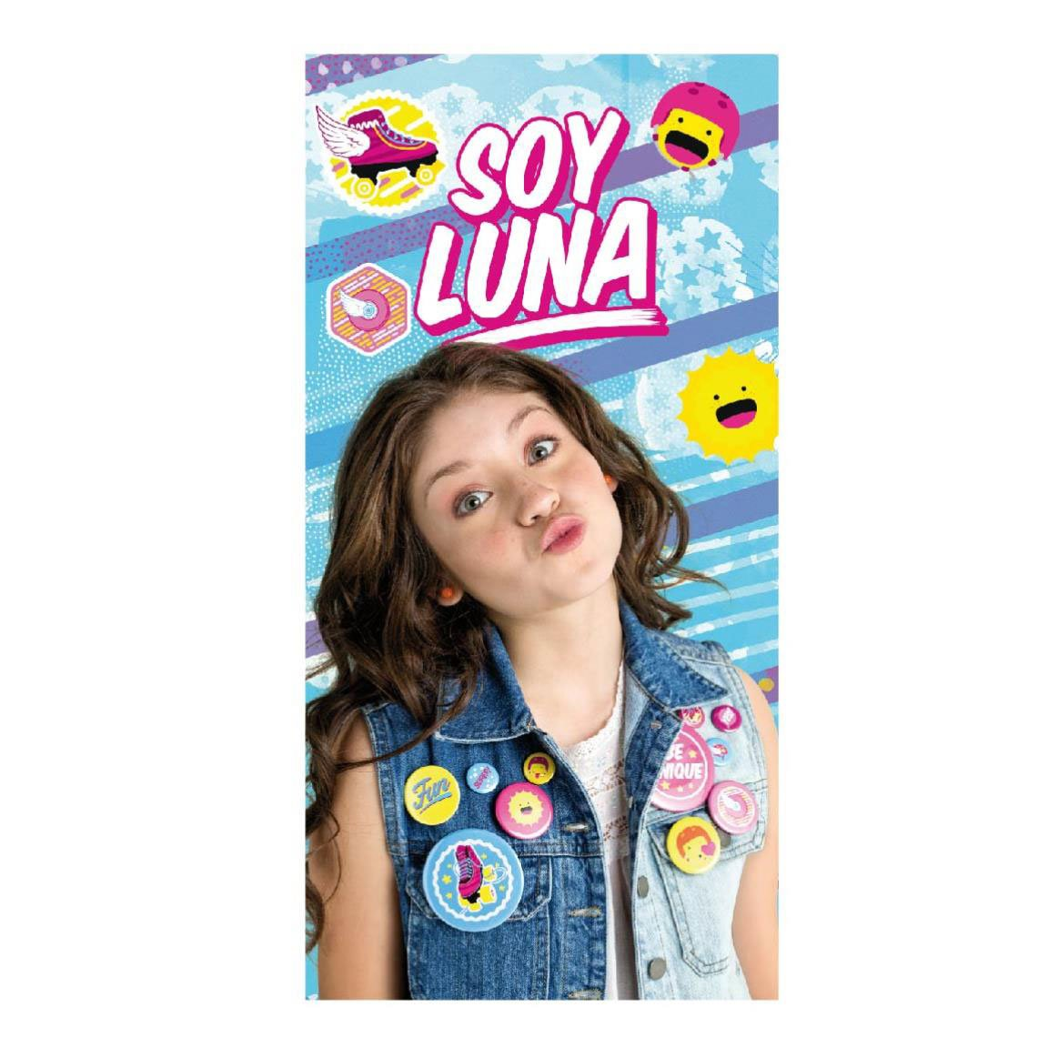 Made in Trade - Soy Luna Serviette en Polyester, 2200002173 Cerda