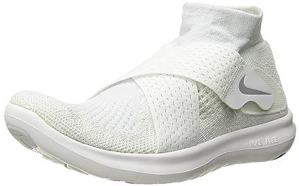 Nike Free RN Flyknit Zapatillas de running Mujer Gris lobo