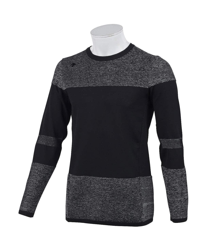 [デサントゴルフ] セーター DGMNJL01 メンズ LL(O) ブラック(BK00) B07PKKJQC5
