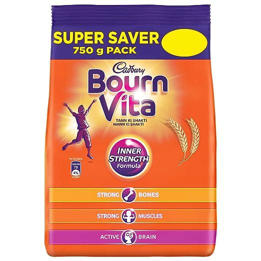 Cadbury Bournvita  Health Drink, 750 gm Refill Pack