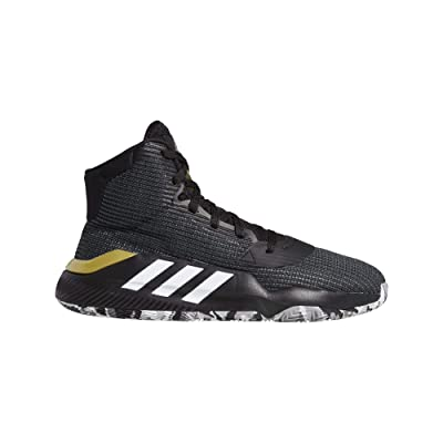 adidas Pro Bounce 2020 Black/White/Grey Basketball Shoes (F97282): Sports & Outdoors