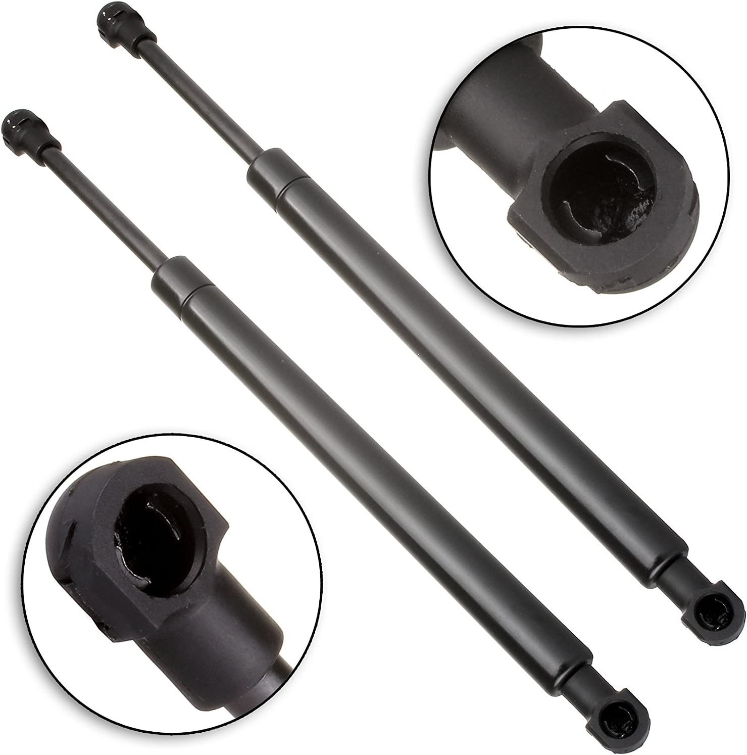 SCITOO Rear Glass Window Lift Supports Struts Gas Springs Shocks fit 2004-2010 Volkswagen Touareg