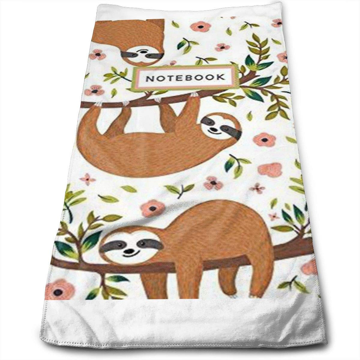 OQUYCZ Pet Animal Sloth Multi-Purpose Microfiber Towel Ultra Compact Super Absorbent and Fast Drying Sports Towel Travel Towel Beach Towel Perfect for Camping, Gym, Swimming.