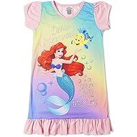 Disney Camisón para Chicas De Princesa Personajes De Televisión | con El Rey León, Aladdin, Cenicienta, Paw Patrol…