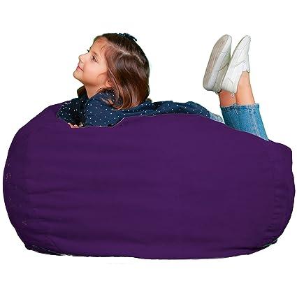 Gentil Kids Bean Bag Chair Premium Cozy Foam Filled Cozy Bean Bag