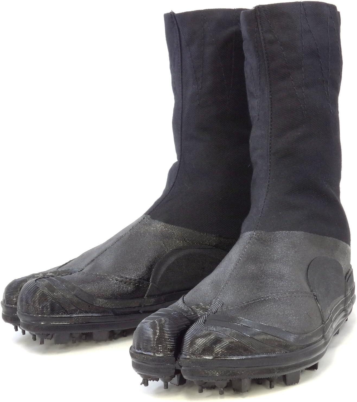 Amazon.com : Rikio Spike Tabi Water Repellent Canvas Boots ...