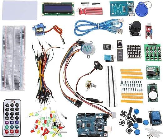 ROUHO Kits del Arrancador De RFID para Arduino R3 Actualizado Versión Suite Módulo Tablero con Caja por Menor De Aprendizaje: Amazon.es: Hogar