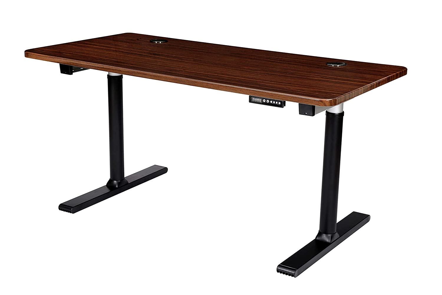 Memory Controller, Fox Teakwood Top ApexDesk Vortex Series 60 6-Button Electric Height Adjustable Sit to Stand Desk