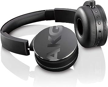 Amazon Com Akg Bluetooth Headphone Black Y50btblk Electronics