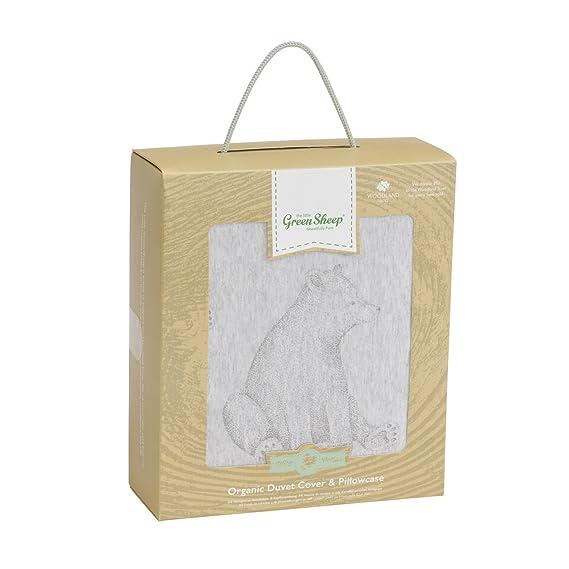 La Little Green oveja Wild algodón orgánico juego de funda ...