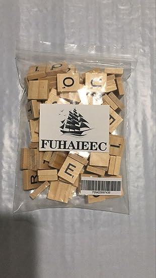 200 scrabble tiles new scrabble letters wood pieces 2 complete