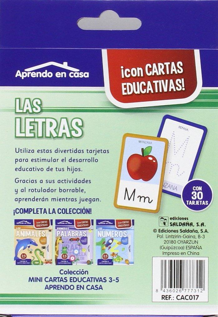 Mini Cartas Educativas. 3 - 5 Años [modelos surtidos ...