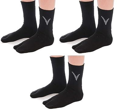 1d23d8104 Amazon.com  3 Pairs V-Toe Wool Warm Flip-Flop Big Toe Tabi Indoor ...