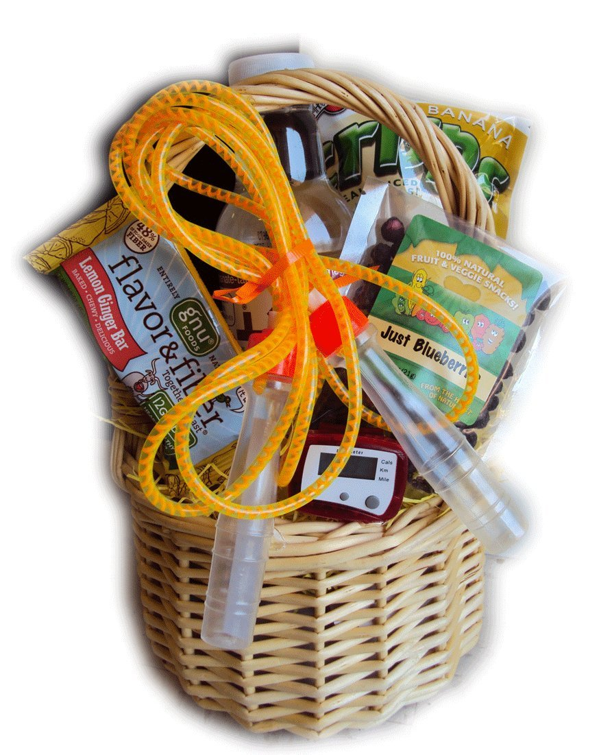 Healthy & Fit Gift Basket for Children by Well Baskets