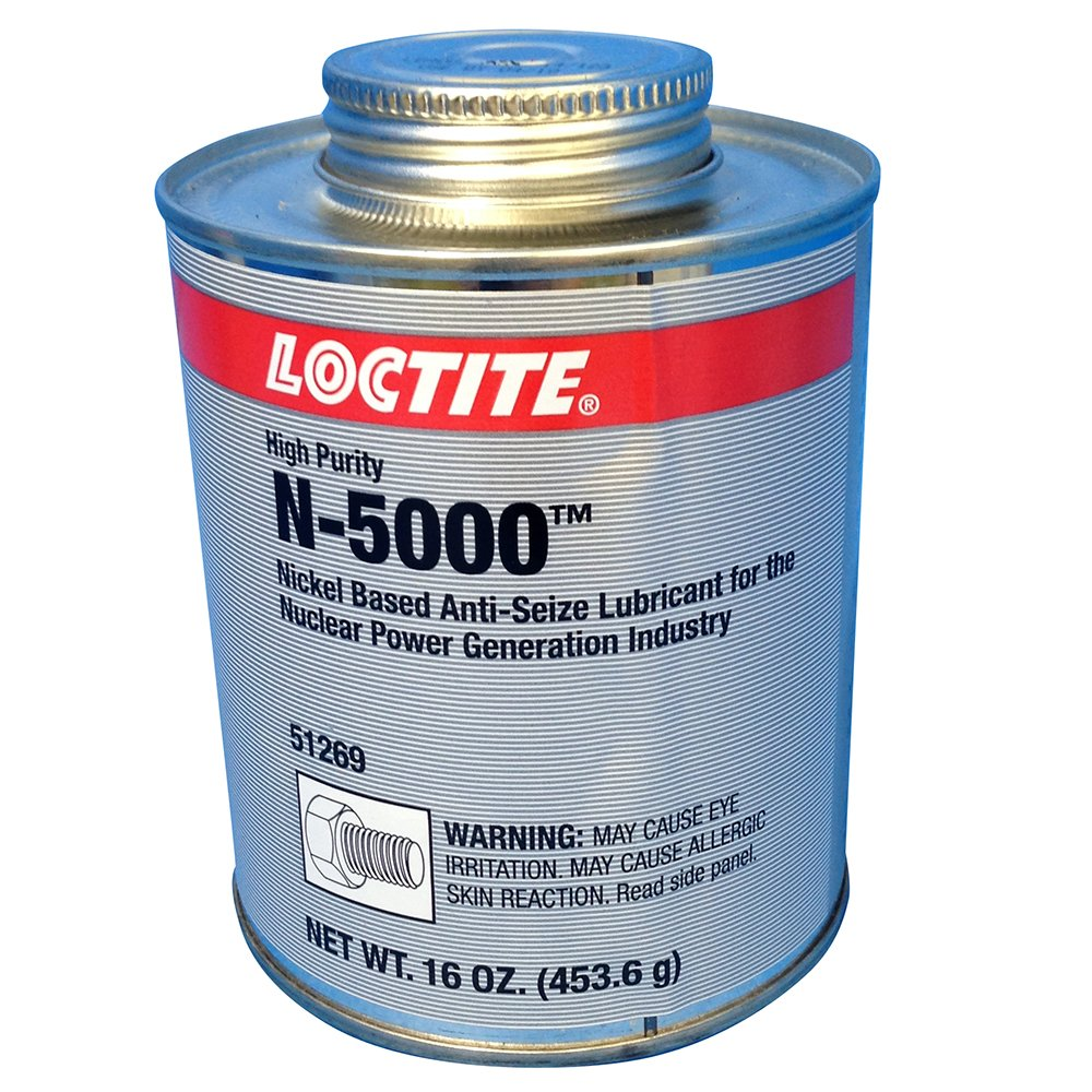 Loctite 51269 LB N-5000 High Purity Anti-Seize Brush Top Can, 1 lb.