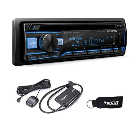 Alpine CDE-172BT CD Receiver with Bluetooth SiriusXM Satellite Tuner