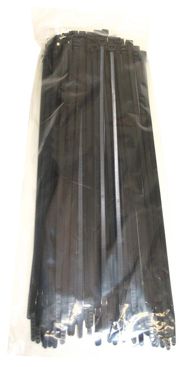 Blackpoint Products BE-0111B BLACK  Locking Cable Ties