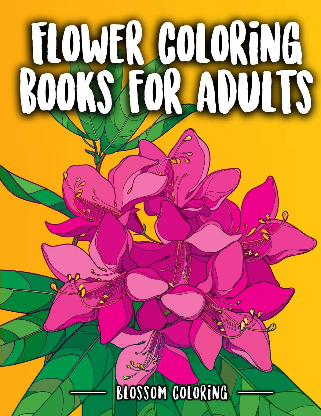 Amazon.com: Flower Coloring Books for Adults: Flowers ...