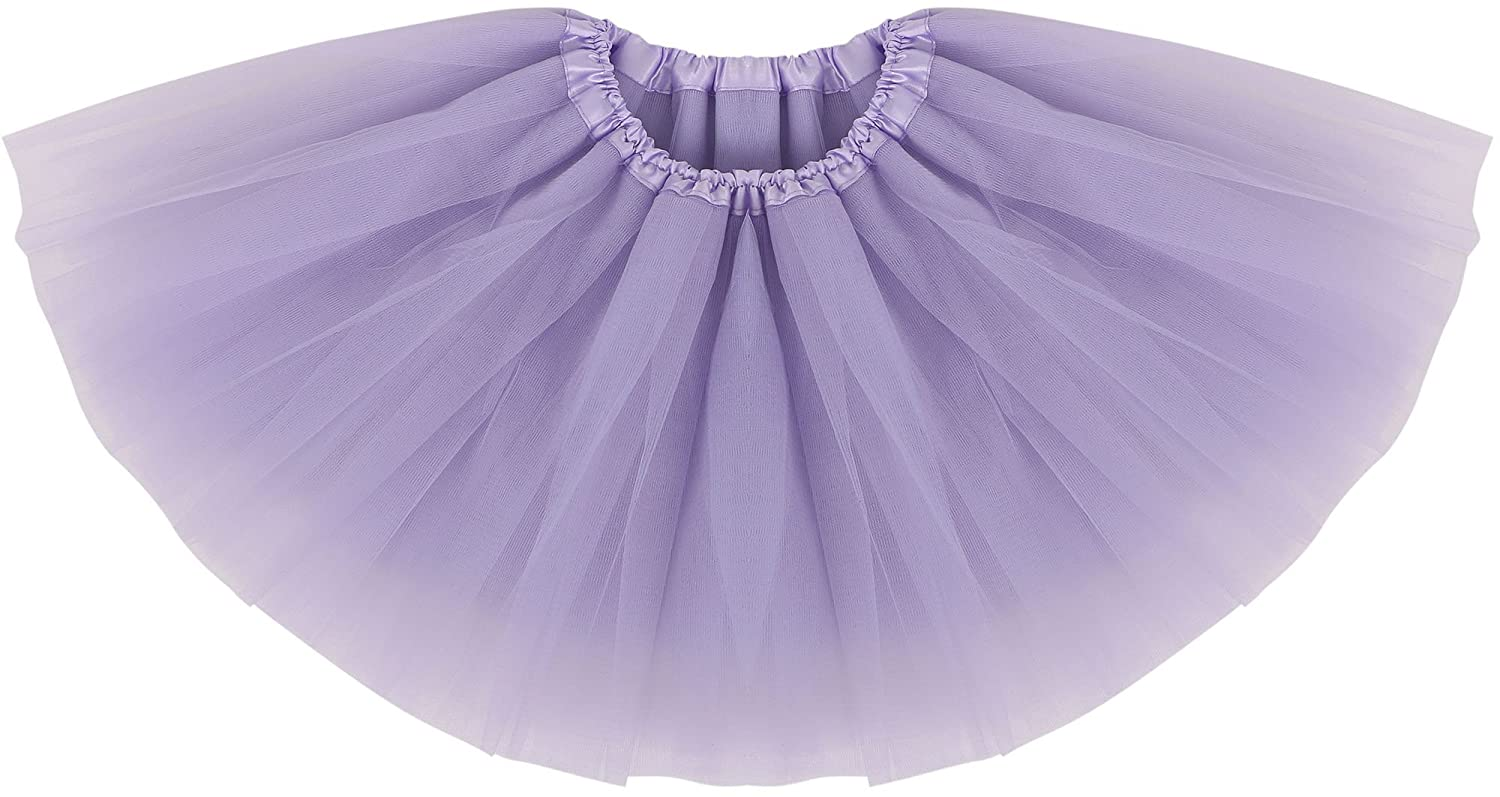 Simplicity Baby Girl's Classic Soft Tulle Tutu Skirt ( 6 Months to 8 Years )
