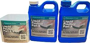 Miracle Sealants Liquid Poultice Non-Acid Deep Cleaner Biodegradable (x2)(Part A & B) 32 Fl Oz 1 Kit