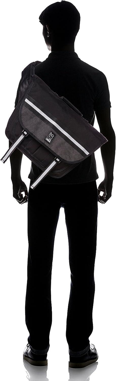 Chrome BG-175-NITE Night Black One Size Mini Buran Messenger Bag Black Buckle by Chrome