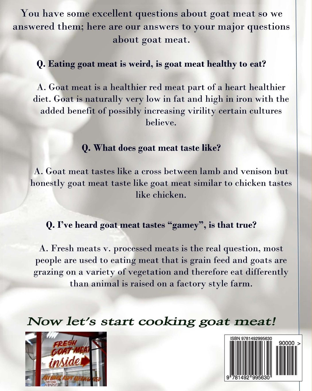 Goat meat benefits