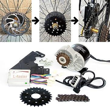 L-faster 24V36V 350W Kit de conversión de Bicicleta de montaña ...