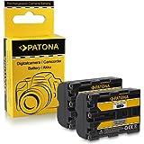 2x Batterie NP-FM500H pour Sony Alpha 57 SLT-A57 | 58 SLT-A58 | 65 SLT-A65 | 77 SLT-A77 | 99 SLT-A99 | DSLR-A200 | DSLR-A300 | DSLR-A350 | DSLR-A450 | DSLR-A500 | DSLR-A550 | DSLR-A560 | DSLR-A580 | DSLR-A700 | DSLR-A850 | DSLR-A900