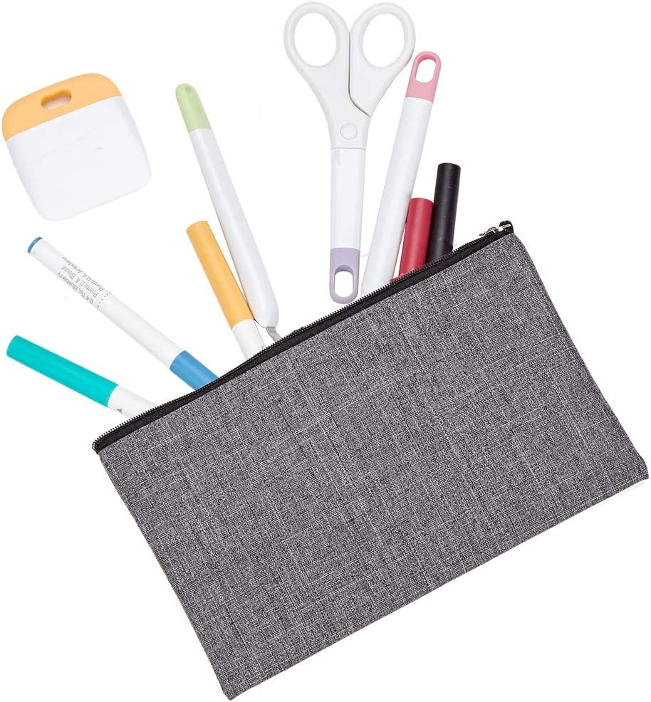 Small Craft Pouch Gift for Wedding HOMEST 8 Pack Blank DIY Bag with Zipper Heat Press Accessories