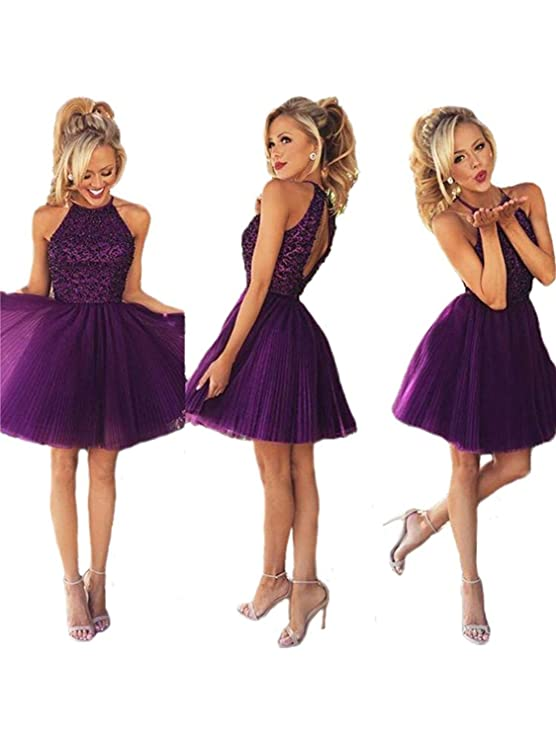 The 8 best short purple homecoming dresses under 100