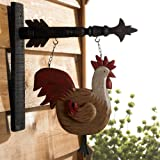 Rooster Hanging Decorative Sign