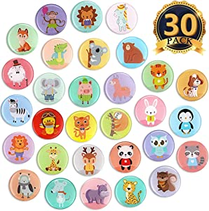 MORCART Animal Fridge Magnets for Refrigerator Locker Cute Funny Magnets Kitchen School Cabinets Classroom Whiteboard Office Cubicle Magnetic Board Decorative Magnets Gifts for Adults Kids